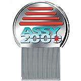 Pettine ASSY 2000 - Antipidocchi Antipediculosi- L'UNICO Assy 2000 -Finalmente liberi da Pidocchi e Lendini - Pettine di Acciaio Anti Pidocchi