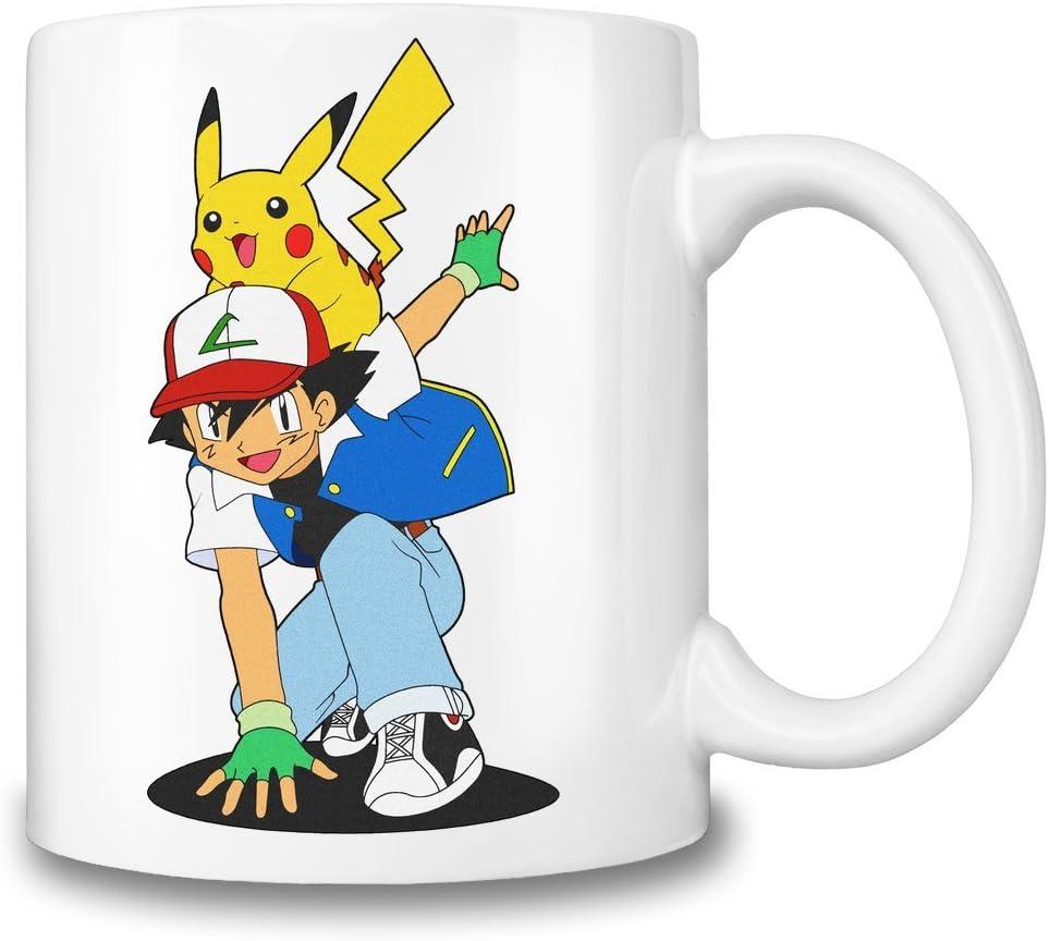 Ash Ketchum And Pikachu Tasse