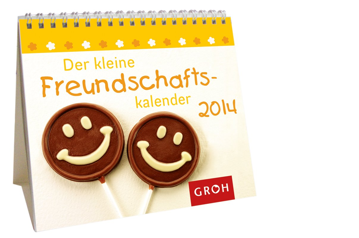 Der kleine Freundschaftskalender 2014: Mini-Kalender