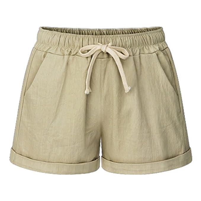 Dragon868 Pantaloni Donne Taglie Forti Pantaloncini Casual Arcobaleno Pantaloni a Vita Alta Pantaloni Sportivi Yoga Palestra