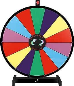 Nova Microdermabrasion 24 Pulgadas Mesa Color Spinning Prize Rueda ...