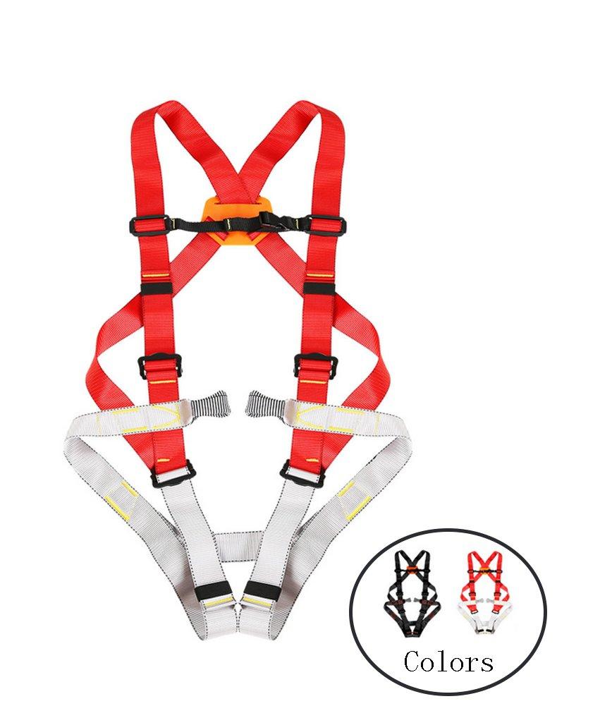 WCYBELT Ganzkörper-Klettergurt Outdoor-Rock Quick-Climbing Klettern Klettern Klettern Sicherheitsgurt Multifunktionale Einstellbare Gürtel Erweiterung Training B07D3SCJ73 Klettergurte Günstige Bestellung 51558a