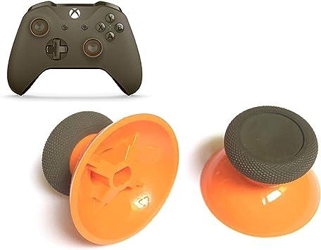 Paquete de 2 mandos de Repuesto para Xbox One y Xbox One Slim Controller, Color Naranja: Amazon.es: Electrónica