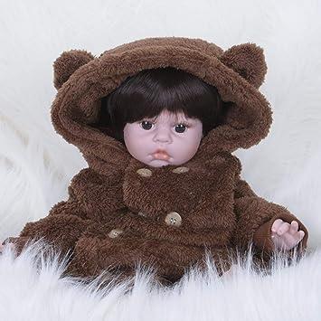 Hongge Reborn Baby Doll Reborn Puppe Reborn Puppe Spielzeugpuppe