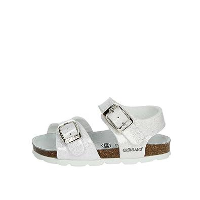 Grunland Junior SB0241 Aria Sandalo BAMB. S. Bianco 20  Amazon.co.uk ... 909f46c94ad