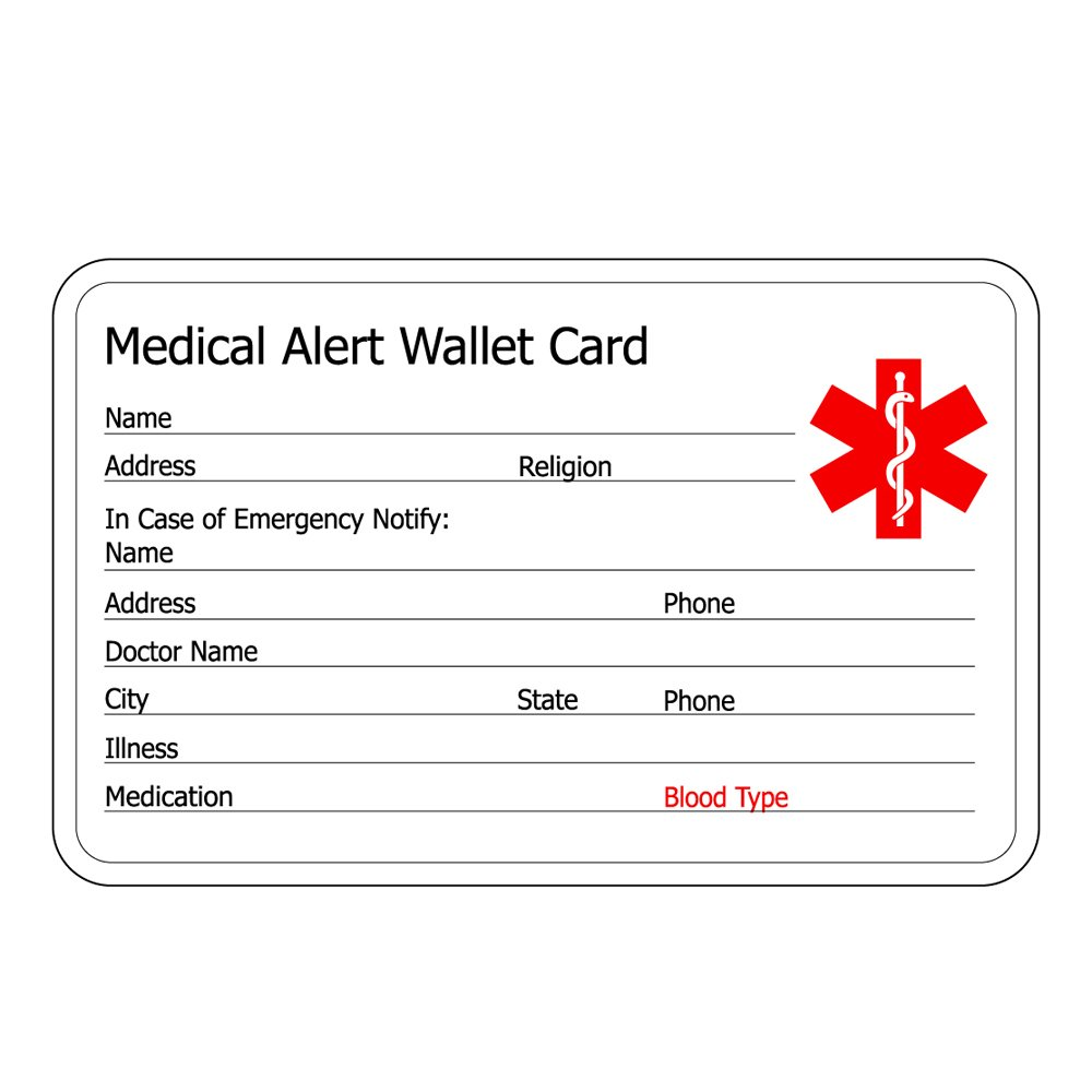 linnalove Free Engraving Rose Gold Medical id Bracelet for Women-Pre-Engraving Blood THINNER by linnalove (Image #3)