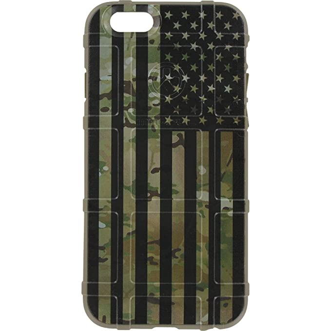 buy online efaed 84bf1 Limited Edition - Authentic Made in USA Magpul Industries Field Case for  Apple iPhone 5/ iPhone 5s/ iPhone SE Subdued US Flag Over Multicam/Scorpion  ...