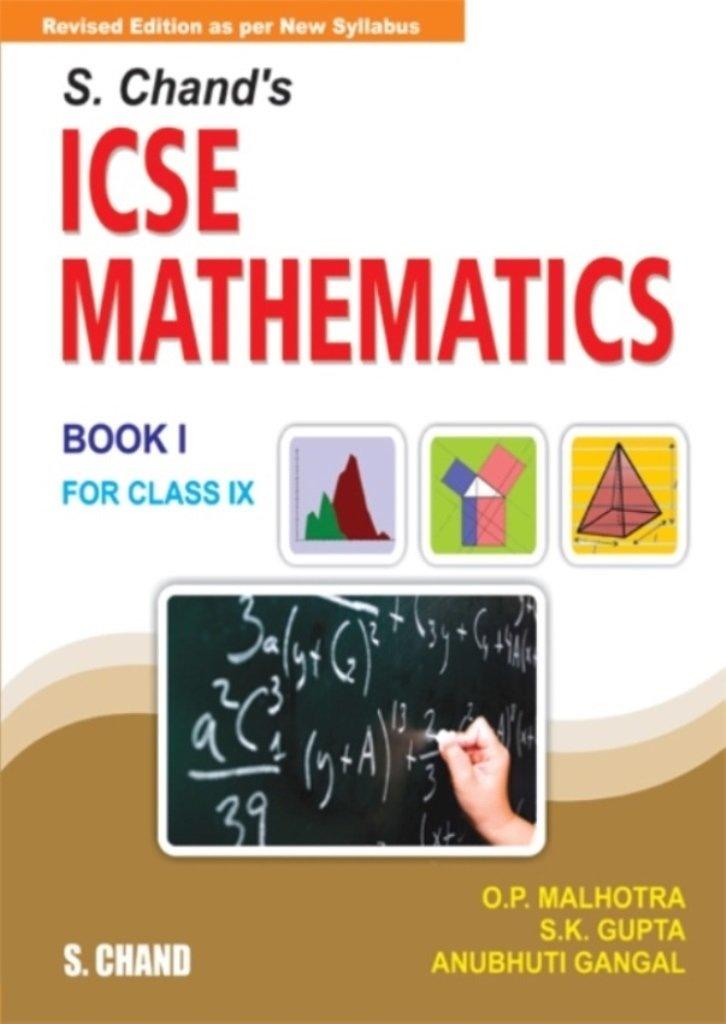 Amazon.in: Buy S. Chand\'s ICSE Mathematics Class - IX (Old Edition ...