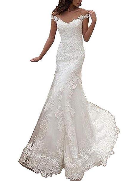 Abiti Da Sera A Sirena.Jaeden Abiti Da Sposa Sirena Principessa Vestito Da Sposa Lungo