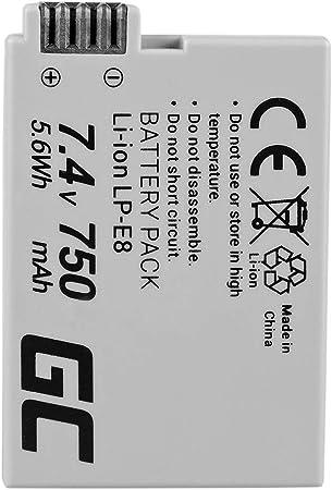 Green Cell Lp E8 Lpe8 Kamera Akku Für Canon Eos 550d Elektronik