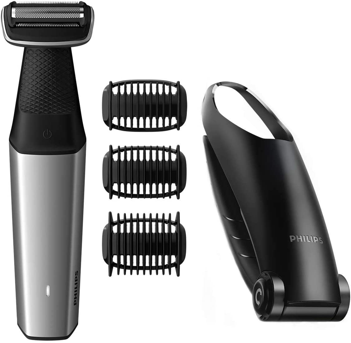 Philips BODYGROOM Series 5000 BG5020/13 afeitadora corporal Negro ...
