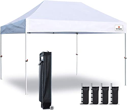 Keymaya 10×15 Ez Pop Up Canopy Tent Commercial Instant Shelter Canopie