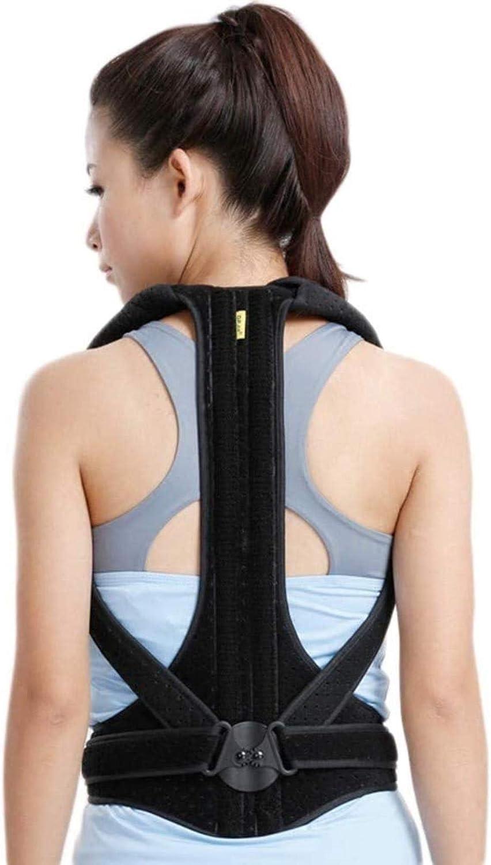 Corrector de médula Mujer Volver Órtesis ortopédica Corrección de la correa de la correa de corrección de mejorar la postura for prevenir la pereza y aliviar el dolor de espalda de apoyo (Tamaño: Gran