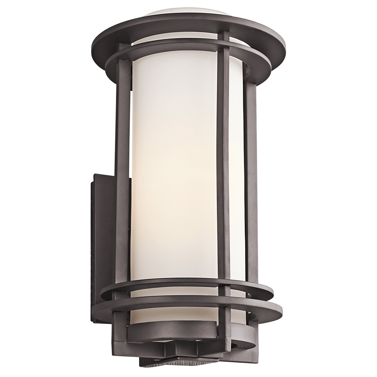 Kichler 49346az pacific edge outdoor wall 1 light architectural kichler 49346az pacific edge outdoor wall 1 light architectural bronze wall sconces amazon aloadofball Image collections