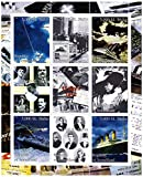 Titanic stamps for collectors - Photographs and artwork - 9 superb stamps - Ideal for stamp collecting - Mint NH