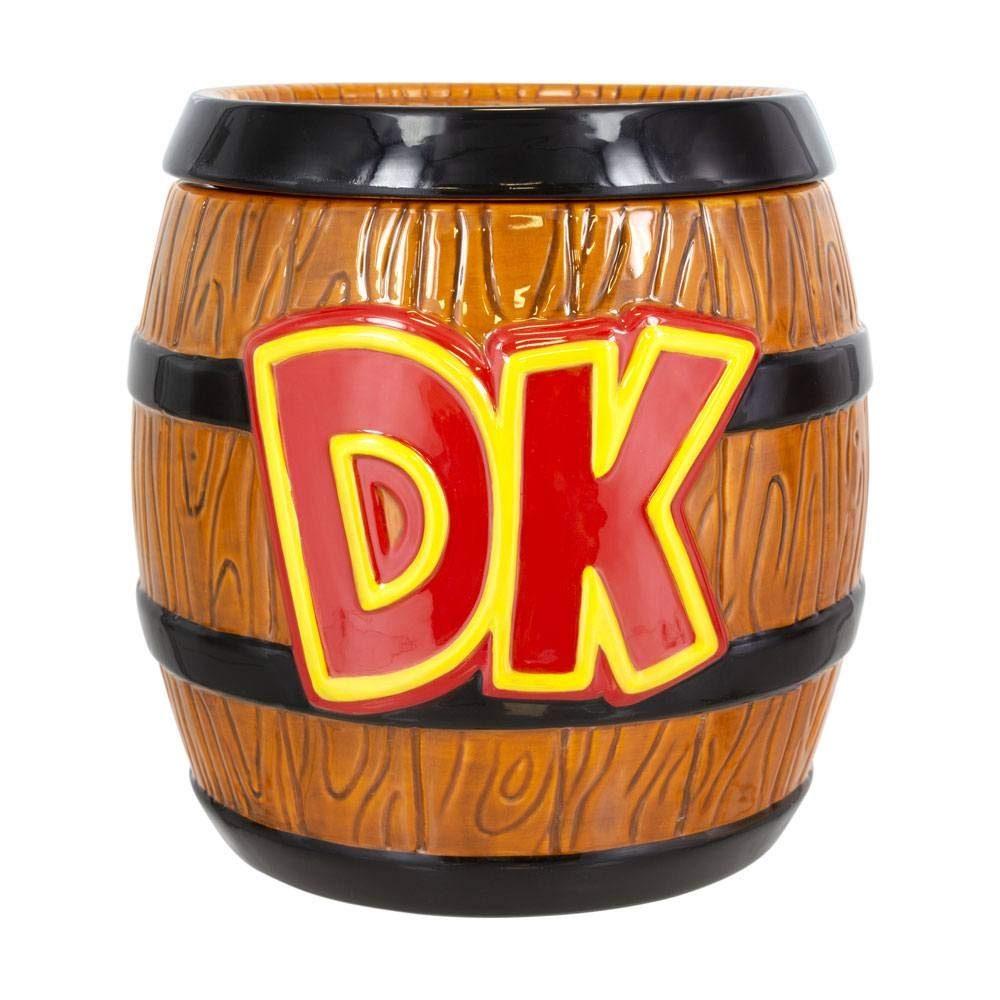 Cer/ámica Super Mario Paladone Products 5055964723941 Tarro de galletas Donkey Kong