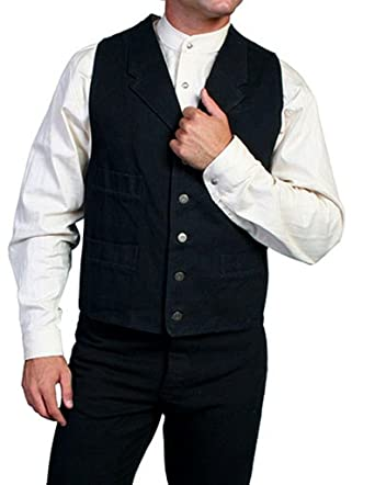 96949f79 Scully Canvas Vest at Amazon Men's Clothing store: Outerwear Vests