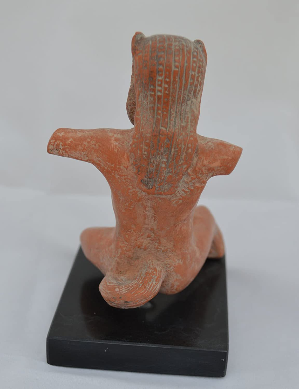Mythologie Satyre Statue en c/éramique/ /Mythologie Grecque antique/ /Sil/ène /mus/ée R/éplique de larticle/