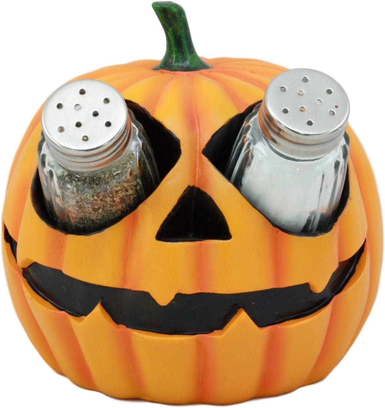 Tall PUMPKIN Salt /& Pepper Shakers