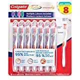 Colgate 360 Toothbrush with Tongue and Cheek Cleaner - Soft (8 Pack)