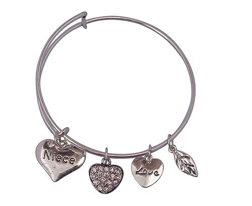 Amazon Com Niece Bangle Bracelet Niece Jewelry Bracelets For