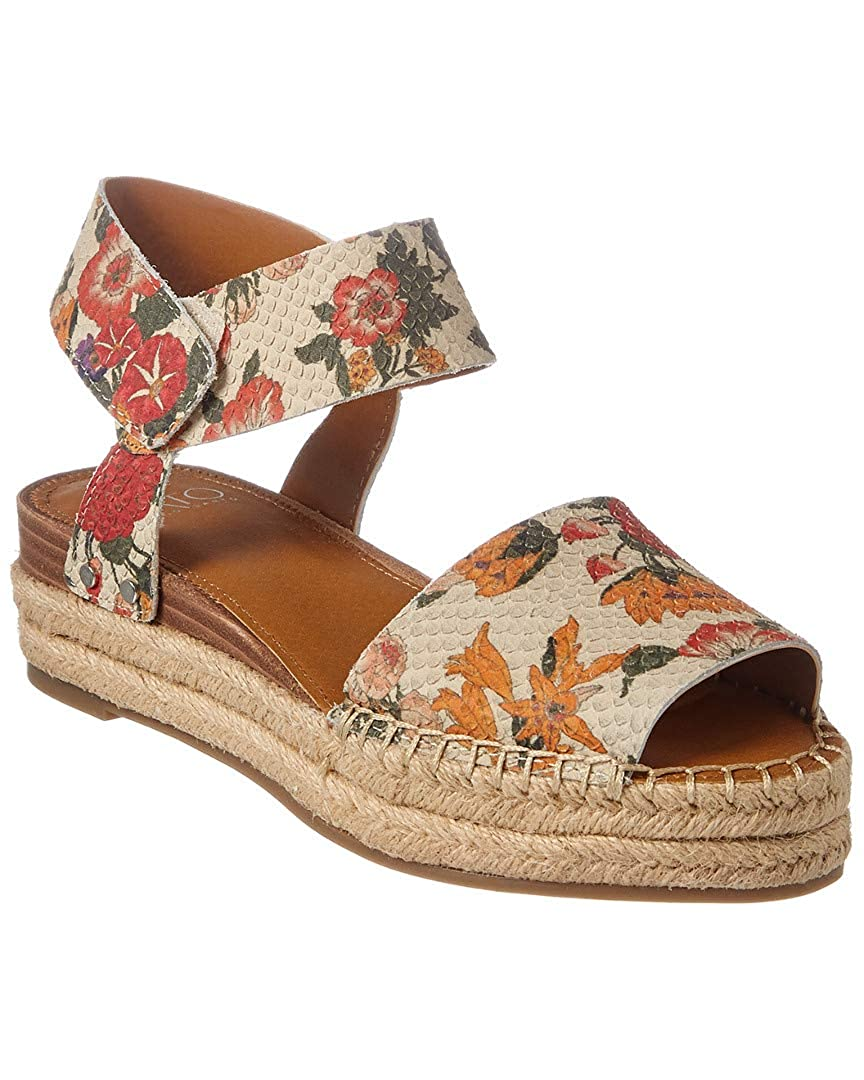 訳あり商品 [Franco Sarto] Womens US Oak US|Multi Peep Toe Casual Leather Snake Flat Sandals B078Z25MDS 9 B(M) US|Multi Floral Snake Multi Floral Snake 9 B(M) US, BELLE MONDE:58970679 --- wattsimages.com