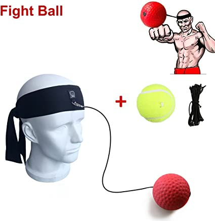 Fight Boxing Training Ball Elastic Headband Ball Equipment Reflex Speed Training