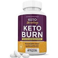 Keto Advantage Keto Burn Pills Advanced Ketogenic Supplement Includes goBHB Exogenous Ketones Premium Ketosis Support…