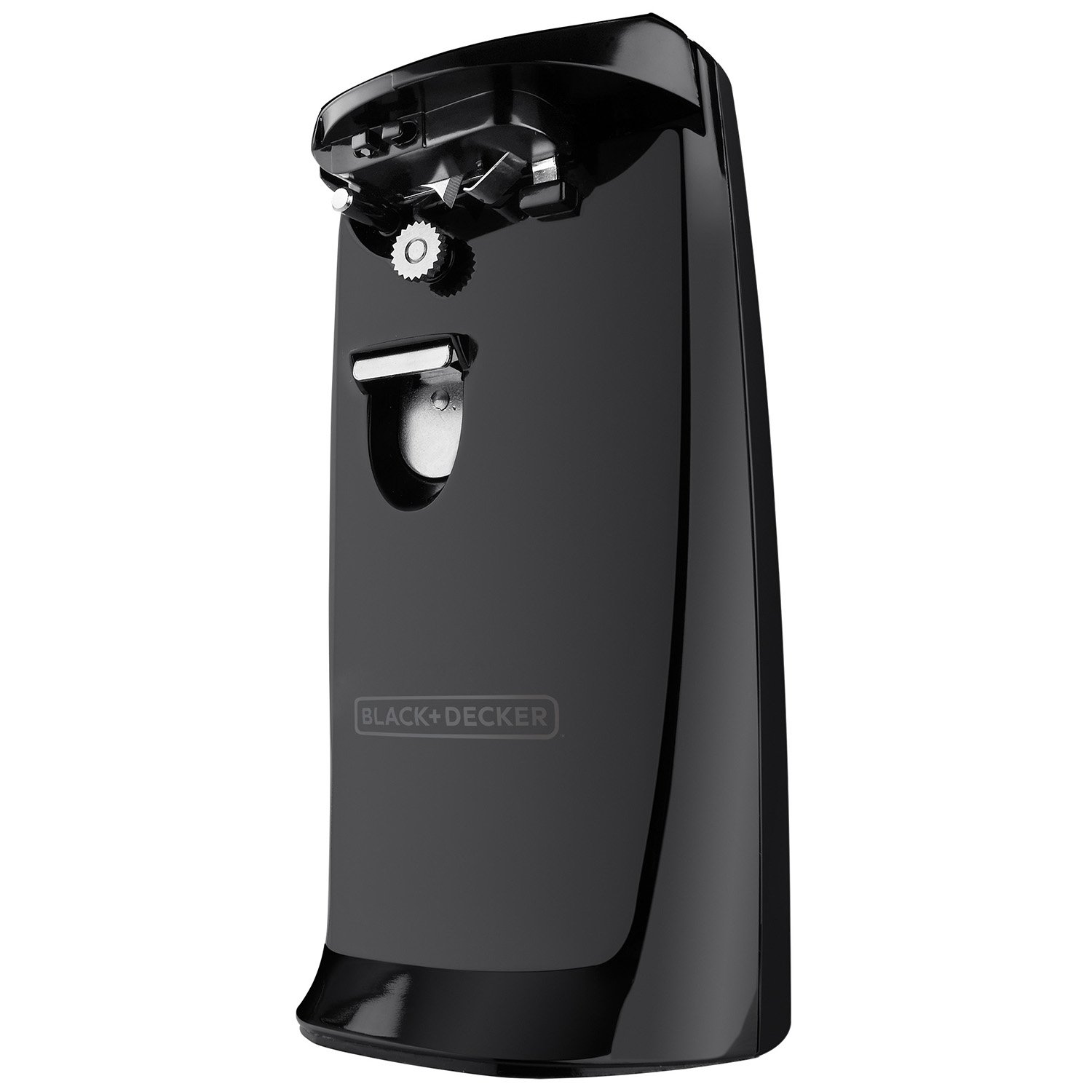 Black & Decker EC475B-2 Electric Can Opener, COMPACT, Black by Black & Decker