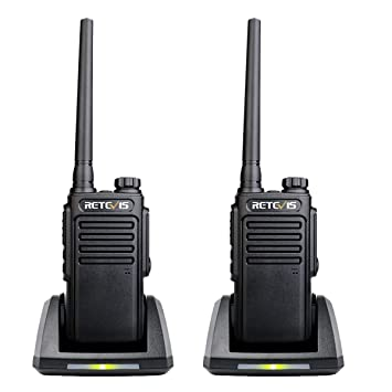 Retevis RT647 Walkie Talkie Recargable Profesional IP67 ...