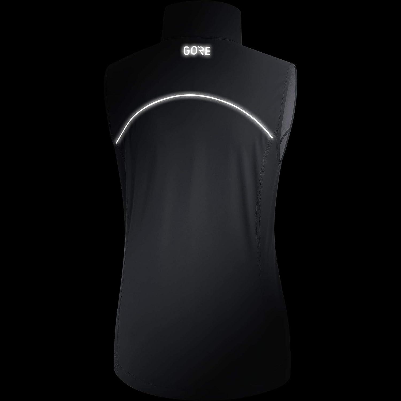 Taille Fabricant : 40 L GORE WEAR R3 Gilet Femme Noir FR