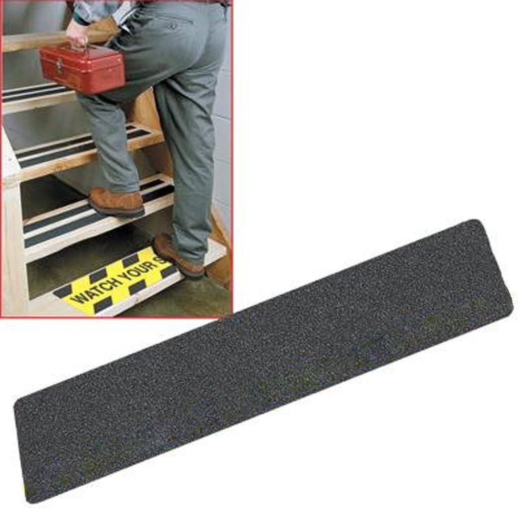 5pcs Autocollant Bande de S/écurit/é Adh/ésive Anti-d/érapant pour Escalier Salle de Bain 61cm 15cm