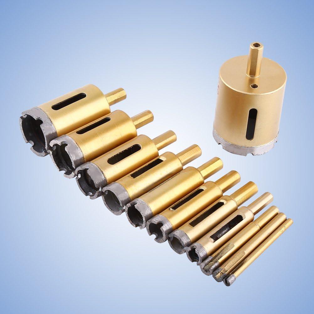1/PC Foret pour perceuse diamant outil Scie pour Marbre Pierre C/éramique Pierre Dimensions optionnels 6/mm-50/mm