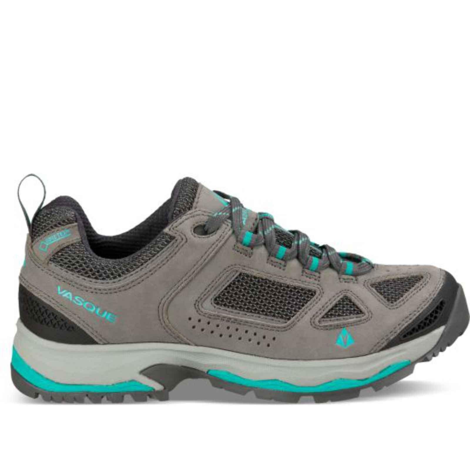 Vasque Breeze III Low GTX Hiking Boots Womens, Gargoyle/Columbia, 10.5 US, 07197M 07197M 105 by Vasque (Image #1)