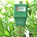 Alotpower Soil Moisture Sensor Meter for Indoor&Outdoor Use