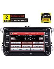 7 pollici Car stereo doppio din navigatore satellitare per VW MK5 MK6 Golf Passat Jetta Skoda Polo supporto GPS Navigazione CD DVD Bluetooth USB SD Radio RDS controllo del volante Canbus Video 16G Map