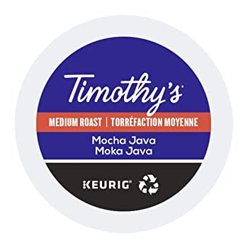 Timothy's World Coffee Java Mocha K-cups