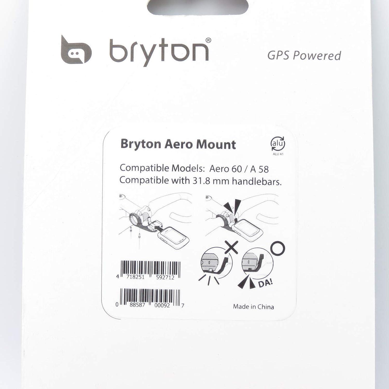Bryton Soporte Frontal Alargador Aero 60/Aluminio 31,8/mm