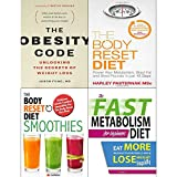 img - for Obesity code, body reset diet, smoothies and fast metabolism diet 4 books collection set book / textbook / text book