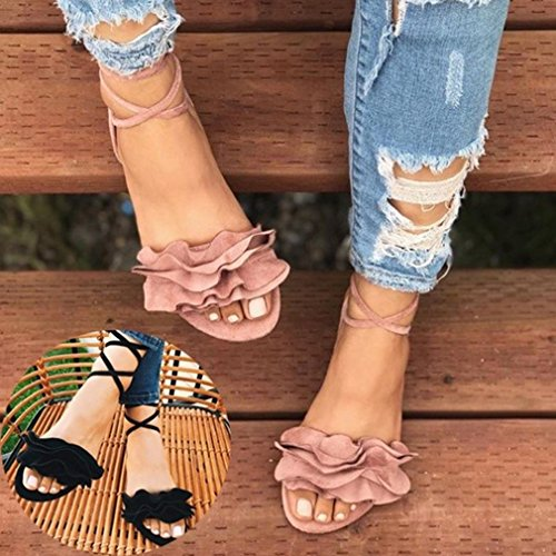 Ladies Thick Red Sandals Sandals Flat Bottom Style Juleya Strappy Women Flower Sandals Rome pwSEzqHS