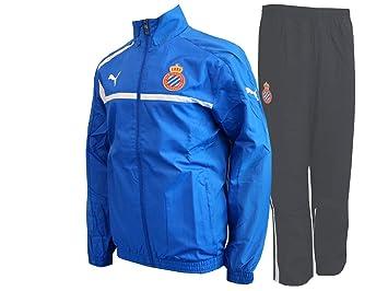 Puma Espanyol Barcelona - Chándal de la Liga, Color Azul y ...
