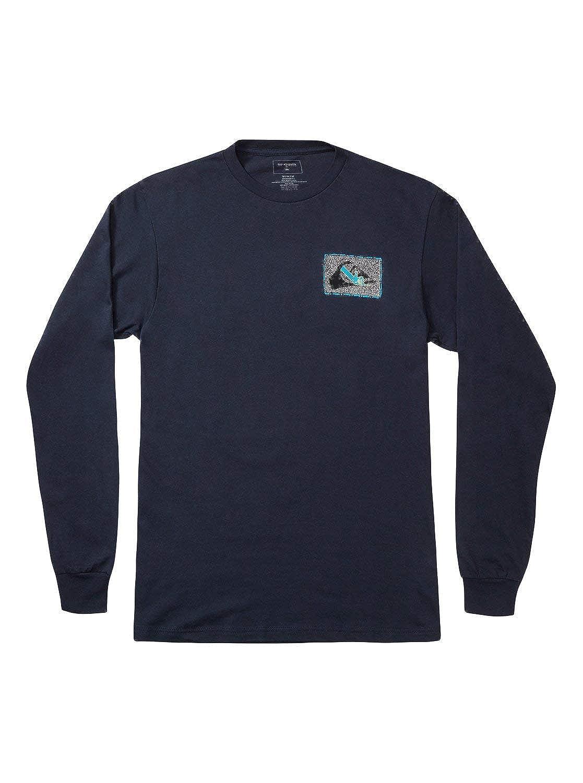 Quiksilver Mens Shakka Long Sleeve T-Shirt for Men Long Sleeve Tee