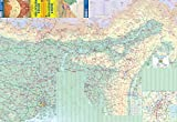 Bhutan & Northeast India Travel Reference Map 1:350K/1:1.3M