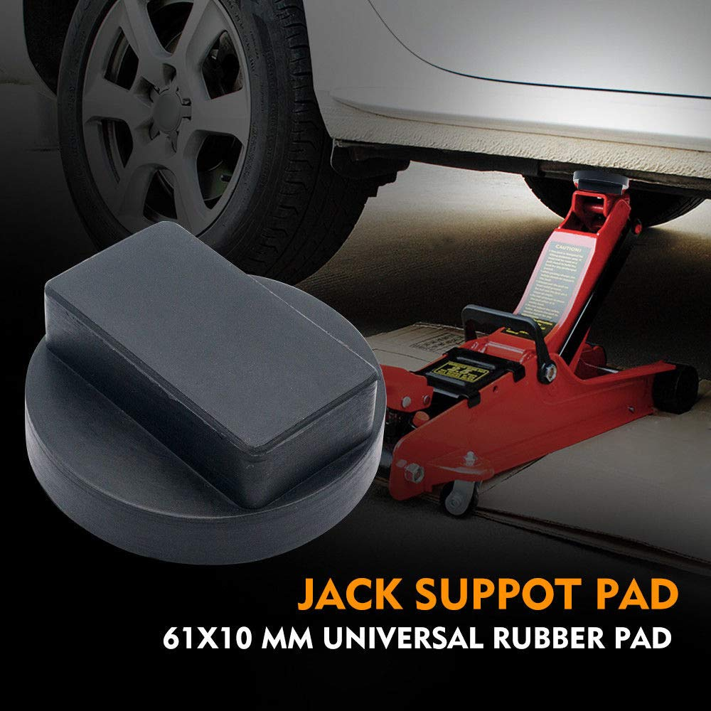 Semoic Tampon De Point De Cric Jack Support De Levage en Caoutchouc Dur 61x10 Mm pour Mercedes UK