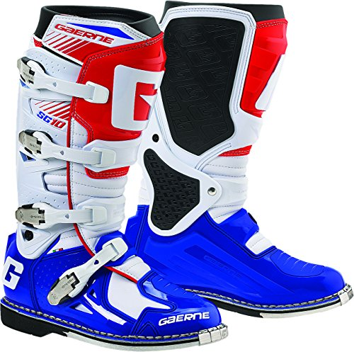 Gaerne SG-10 Boots (Red/White/Blue, 11) from Gaerne