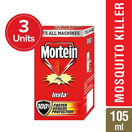 Mortein Insta 5 Plug in Mosquito Repellent Refill - 35 ml (Pack of 3