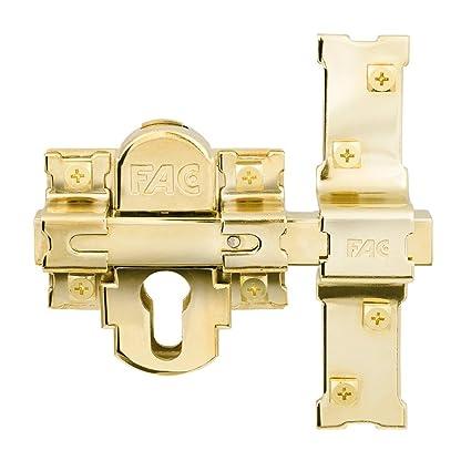 Fac - Cerrojo 311-l/80 s/c classic oro: Amazon.es: Bricolaje ...