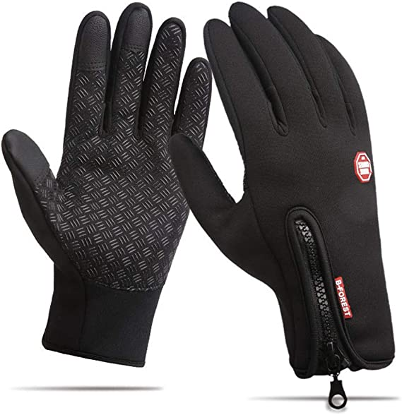 Fauhsto Cycling Gloves Unisex Winter Outdoor Windproof Work Gym Hiking Camping Hunting Driving Riding Climbing Sport Smartphone Touchscreen Gloves for Gardening, Builders, Mechanic: Amazon.es: Deportes y aire libre