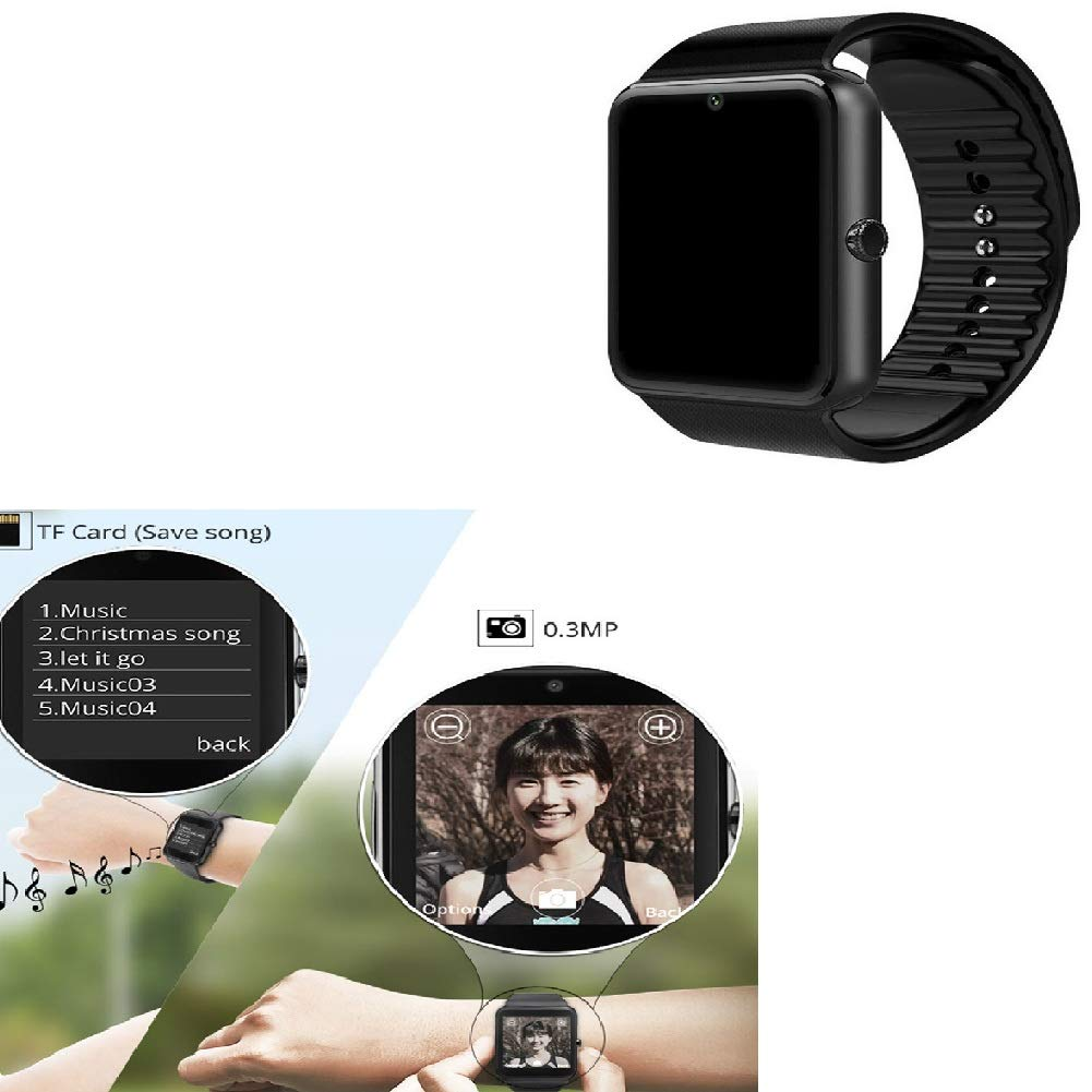 Smartwatch con Whatsapp, Blutooth Smart Watch Pantalla ...