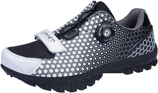 Shoes Zapatos de MTB, Hebilla Bicicleta los Hombres del cordón de ...